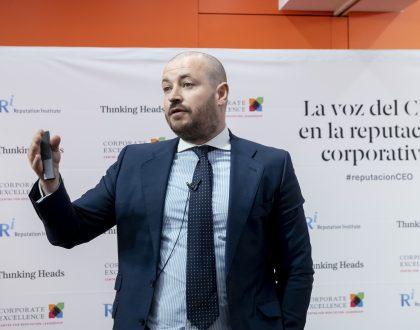 La reputación de las empresas españolas con CEOs conocidos supera en 7,3 puntos a la de otras compañías