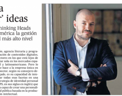 La industria de 'embalar' ideas