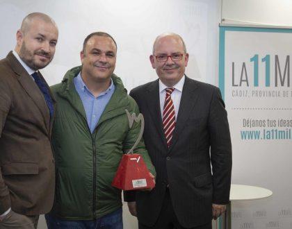 La 11Mil Cádiz entrega en Madrid su primer Premio a Ángel León, el Chef del Mar