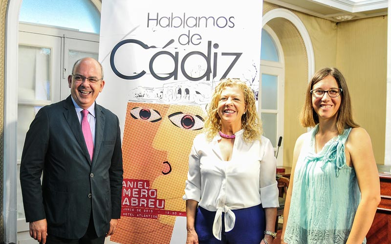 """El joven empresario Daniel Romero Abreu, invitado a profundizar sobre el Cádiz """"que no se ve"""" y a hacerlo """"visible"""" más allá"""
